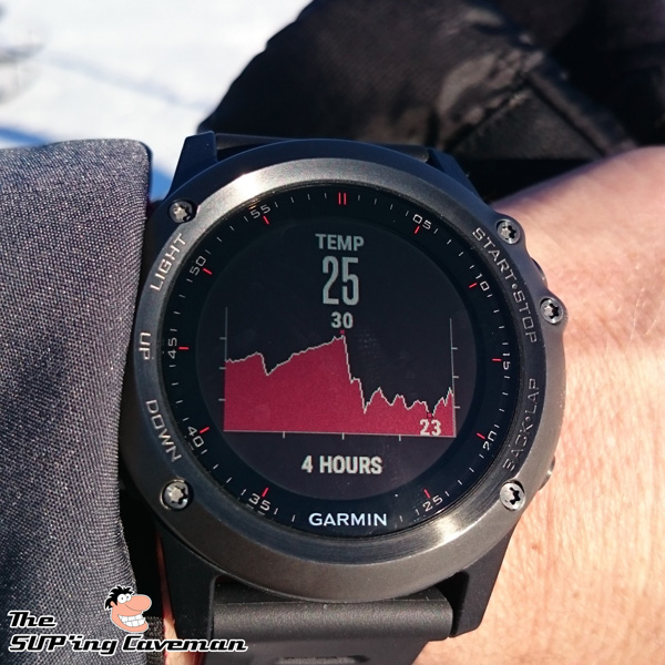 Garmin Fenix 3 Temperature