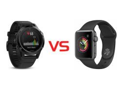 Apple Watch VS Fenix 5